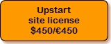 BlueSnap payment for Upstart site licence